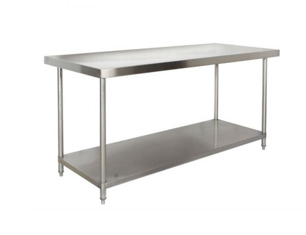 Restaurant Kitchen Work Tables restaurant / hotel commercial catering equipment two layer ss