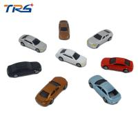 China 1:200 ABS plastic scale model painted car for architecture  train layout on sale