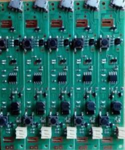 China 9V charging mini fan circuit board of PBC portable USB students banana fan single panel PCBA on sale