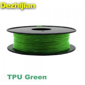 China Flexible TPU 3D Printer Filament 1.75 / 3.0 mm For 3D Printer on sale