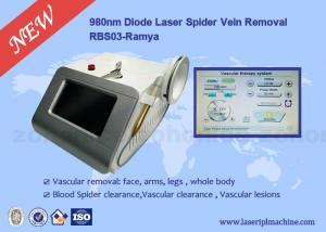 China Medical laser blood vessel removal 980nm Diode laser removal machine on sale