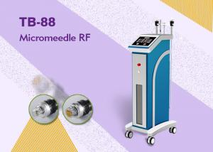 Quality Mono Bipolar Microneedle Radio Frequency Machine For Wrinkle Removal Skin Tightening for sale