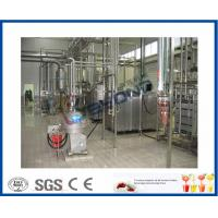Drinking Yoghurt Production Industrial Yogurt Maker With SUS304 / SUS316 Material