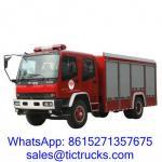 China ISUZU 6000L 240HP Fire Truck 4 x 2 ISUZU for sale wholesale