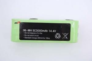 China SC3000mAh 14.4V NIMH Rechargeable Batteries Sweeper Battery Robot Vacuum on sale