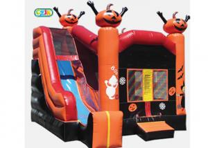 China Cool Playhouse Inflatable Bounce House Combo Castle With Slide For Kids And Adult on sale