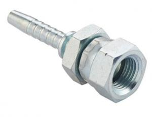 China Female Hydraulic Couplings 29611 Hydraulic Hose Fittings Galvanized Oil / Gas Pipe on sale