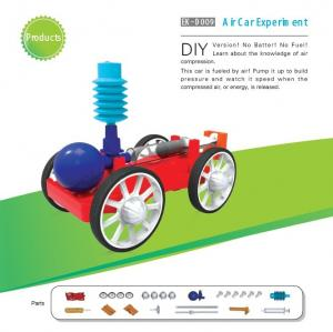 China Classic School DIY Educational Toys Electronic Components , Non Toxic Air Car Toy on sale
