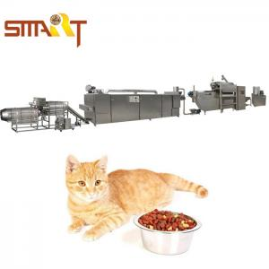 China Automatic Dry Dog Food Making Machine 1000kg/8hr Pet Food Production Line on sale