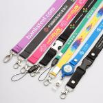 Polyester necklace lanyards with custom imprint logo,Lanyard Colors Key Holder Neck Straps or Holders Sports Lanyards