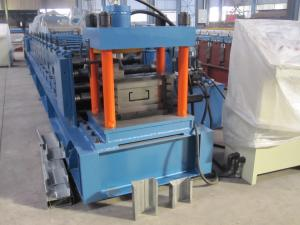 China Aotomatic galvanizó el rollo de acero de la tira que formaba la maquinaria 235 - campo de construcciones 345Mpa on sale