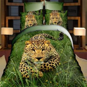 China China home textile factory best price 3D the animal series bedding set support OEM on sale
