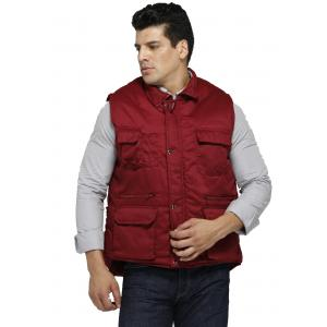 China Custom Color Body Warmer Vest Rub Resistance With Multi Storage And Carrying Space on sale