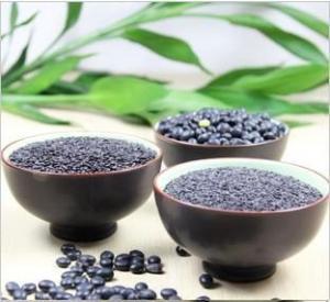 China 3 black natural organic farm food,black kerneled rice,black soya bean,Semen sesami nigrum on sale