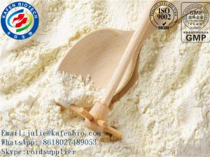 China Dehydronandrolon Powder Anti Estrogen Steroids CAS 2590-41-2 Pale Yellow Solid on sale