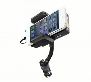 China Car FM Radio Transmitter Charger Holder Handsfree Kit For iPhone5 Touch5 on sale