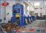 Customized Waste Car Metal Shear Baler For Waste Car Recycling Yards 5000mm Length Press Chamber