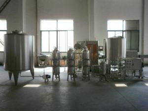 China Ozone Generator Sewage Water Mineral Water Treatment Plant for Beverage Industry on sale