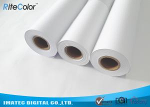 China Water Based Matte Coated Paper Roll , 128 Gram Large Format PaperRoll on sale