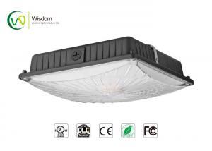 China 45W LED Parking garage lights Slim Canopy Light 5300 lumens 5000K UL DLC AC 120-277 V // WSD-CP45W27 on sale