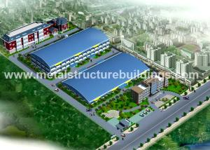 China Multi Function 50 X 75 Metal Building Frame Single Span High Strength Portal Framing on sale