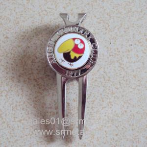 China Best golf divot tools, tailored metal golf gift golf pitchmark repairer for cheap, on sale
