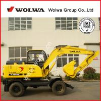 China 8ton shandong wolwa excavator truck excavator used tyres excavator for sale on sale