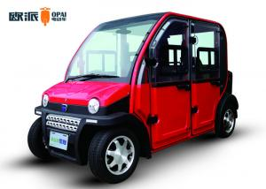 China 4 Wheel Eco - Friendly Electric Cars , Small Electric Vehicle 3KW Motor Power on sale