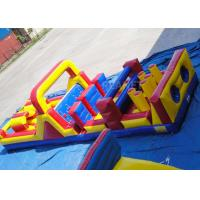 11 Meter Challenge Interactive Inflatable Outdoor Games Triple Stitched