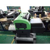 A4 Solvent Flatbed Desktop UV Printer 3D Eco , Digital Glass Printing Machines
