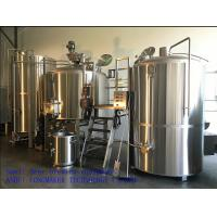 Stainless Steel Fermenter Beer Brewing Equipment Tanks System Full Jacket/50L-1000L