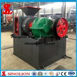 China Double roller hydraulic iron ore powder briquette making machine supplier wholesale