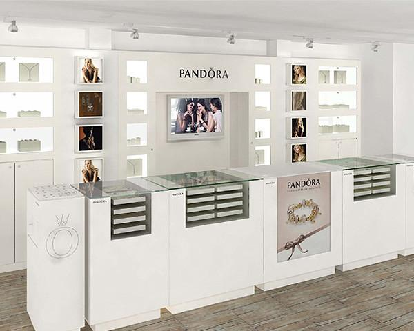 Jewelry Store Display Fixtures Jewelry Display Counter For Retail