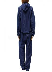 China Waterproof Polypropylene Disposable Coverall Suit Customized Color With Front Zipper on sale