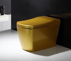 China Flush Mechanism Intelligent Smart Toilet Modern House Design Water Saving on sale