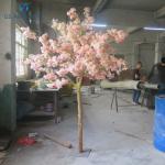 Safe Durable Artificial Cherry Blossom Tree For Housing Estate / Roadside