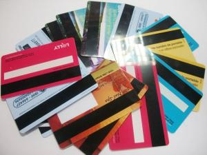 China Factory Price PVC Blank Magnetic Stripe Smart card Credit Card Size on sale