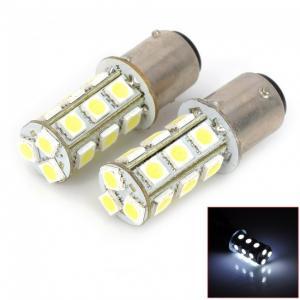 China 1156 ba15s 1141 1147 1159 3528 smd led car bulb automotive bulbs 420LM energy efficient on sale
