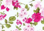 Tela floral hermosa de la impresión de algodón por la yarda 60*60 90*88