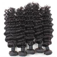 Hot selling Grade 6A 100%  Brazilian Remy  virgin hair, deep weave human hair weave,hair weft, hair extension