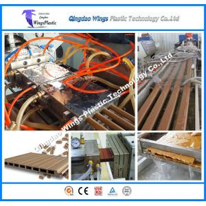 China Wood Plastic Composite Machinery Twin Screw Extruder for Door Plank on sale