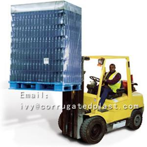 China Round Corner & Seal Edge Corrugated Plastic Pallet Layer Sheets on sale