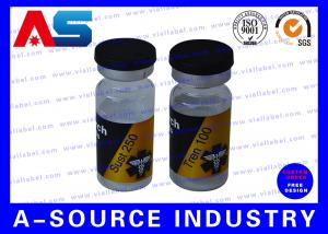 China 10ml Vial Steroid Bottle Labels Custom Private Label Design And Printing on sale