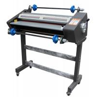 China 650mm Hot And Cold Roll Laminator Machine With LCD Display Reverse Function on sale