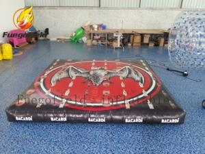 China Custom Inflatable Tumble Track , Inflatable Air Mat For Gymnastics on sale