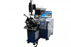 China Low Noise YAG Laser Welding Machine For Metal Oil Filter With Fixture on sale