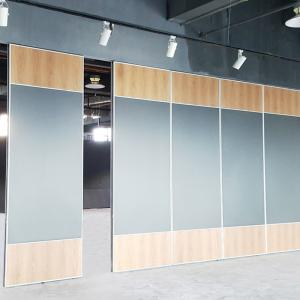 China Decorative Meeting Room Acoustic Movable Partition Walls / Sliding Aluminium Door on sale