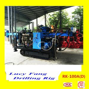 China 2015 Hot Sale China Crawler Mounted Hydraulic Geotechnical Drilling Rig RK-100A(D) supplier