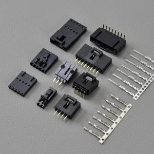 China 12 Pin Vehicle AWG 22 ~ 26 Wire To Board Connectors With Latch / Molex Sl Connectors on sale