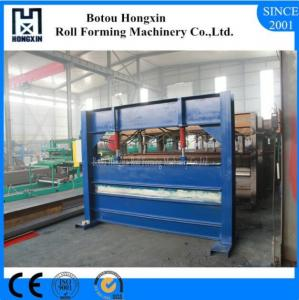China Colored Steel Roll Bending Machine For Roof 0.3 - 0.8mm Plate Thickness on sale